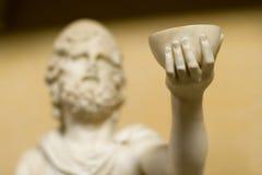 Roman sculpture of a beggar Stock Image