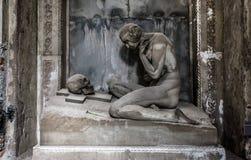 Roman Sculpture de mármore fotos de stock
