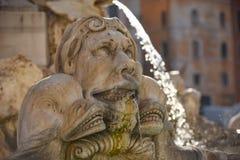 Roman Sculpture Fountain Stock Afbeeldingen