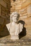 Roman sculpture of man royalty free stock photography