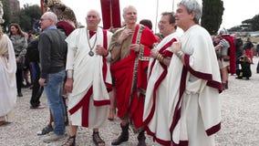 Roman Senators stock video footage