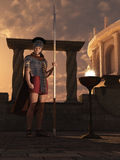 Roman sentry Stock Photography