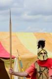 Roman Sentry on guard Stock Photography