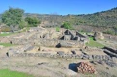 Roman Settlement of Prazo Stock Image