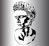roman skulptur royaltyfri illustrationer
