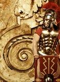 roman soldat för legionary Arkivfoto