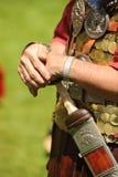 roman soldatsvärd royaltyfri foto