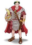 Roman Soldier Royalty Free Stock Photography