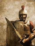 Roman Soldier stock illustration