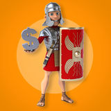 Roman soldier Royalty Free Stock Photos