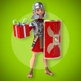 Roman soldier Stock Image