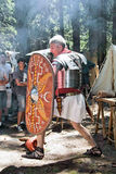 Roman Soldier Attack Royalty Free Stock Photography