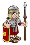 Roman Soldier Cartoon Character Royalty Free Stock Photos