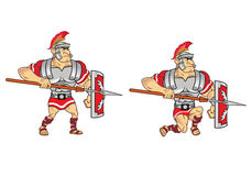 Roman Soldier Game Sprite Fotografia Stock