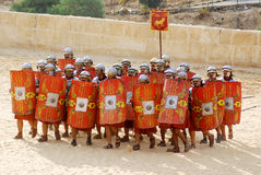 Roman soldier Stock Image