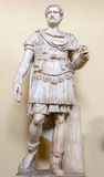 Roman soldier statue in Vatican museum. Royalty Free Stock Image