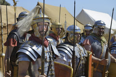 Roman soldiers Royalty Free Stock Images