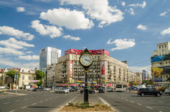The Roman Square In Bucharest Royalty Free Stock Photos