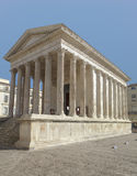 Roman square house Royalty Free Stock Photo