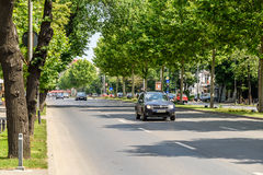 The Roman Square (Piata Romana) In Bucharest Royalty Free Stock Image