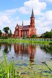 roman st för antony katolsk kyrka Arkivfoto