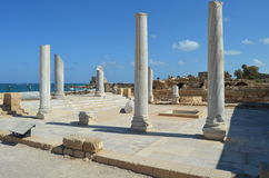 Roman stad Stock Foto