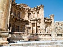 Roman stad Jerash, Jordanië Royalty-vrije Stock Foto's