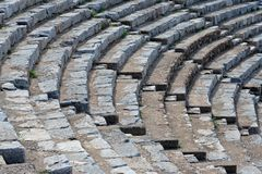 Roman Stadium. Tribune of a roman stadium in europe Stock Image