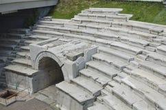 Roman Stadium antico a Filippopoli, Bulgaria Immagine Stock Libera da Diritti