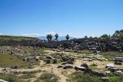 Roman stadium hippodrome Royalty Free Stock Photo