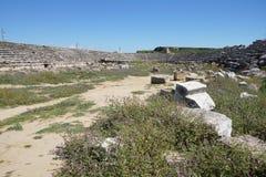 Roman stadium hippodrome Royalty Free Stock Image