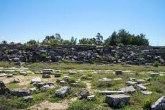 Roman stadium hippodrome Royalty Free Stock Photos
