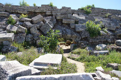 Roman stadium hippodrome Stock Photos