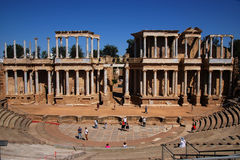 Roman stage Stock Photography