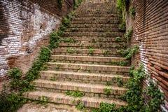 Roman stairs Royalty Free Stock Photo