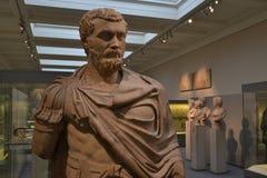 Roman standbeeld British Museum Londen Royalty-vrije Stock Fotografie
