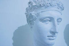 Roman statue. Roman bust: it is a copy of a very old roman bust Stock Photo