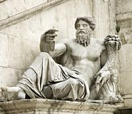 Roman statue Royalty Free Stock Image