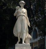 Roman Statue. Female statue in Roman Square stock photography