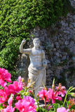 Roman statue in Capri Stock Images