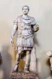 Roman statue in Gallery of Statues Royalty Free Stock Photos