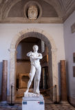 Roman statue in Gallery of Statues Stock Photo