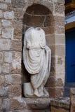Roman statue in Ibiza Stock Photography
