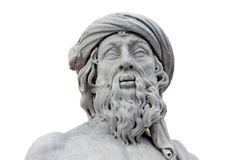 Roman Statue Isolated Royalty Free Stock Photos