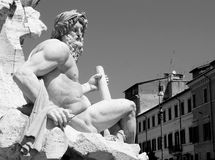 Roman statue Stock Photography