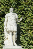 Roman statue in the park Royalty Free Stock Image
