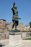 Roman Statue at the Roman Forum Royalty Free Stock Image