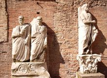 Roman statues Stock Photos