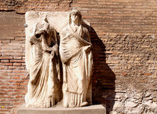 Roman statues Stock Images