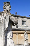 Roman Statues at the Roman Baths Stock Images